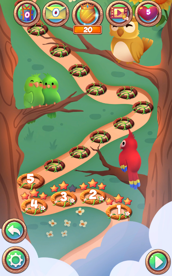 Birds: Free Match 3 Games Screenshot #4