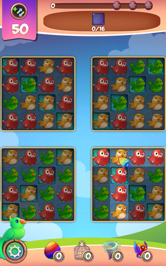 Birds: Free Match 3 Games Screenshot #5