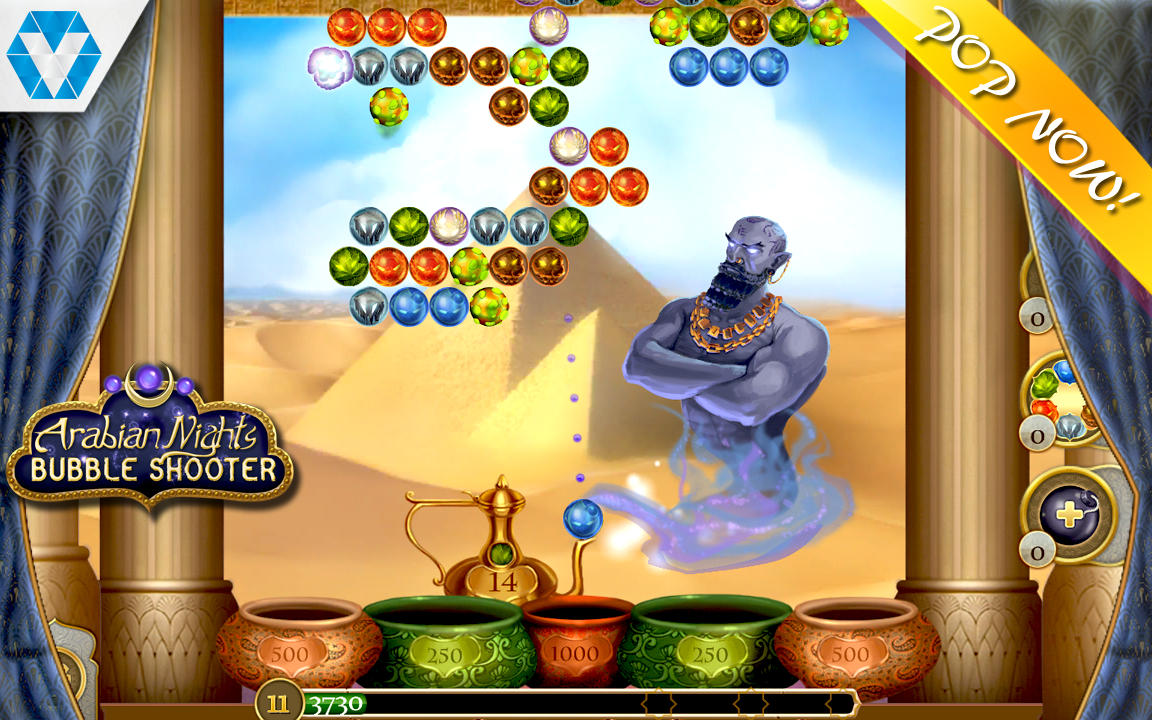 Arabian Nights: Bubble Shooter Screenshot #1