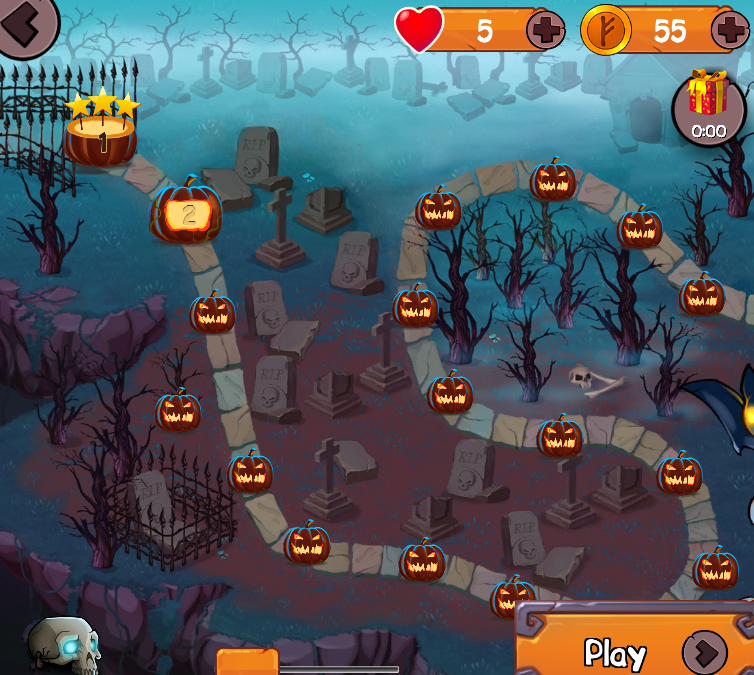 Halloween Monster Match Screenshot #2